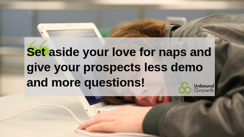 Less naps, more questions