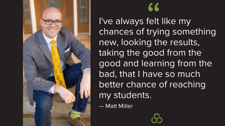 Matt Miller Inspire to Learn