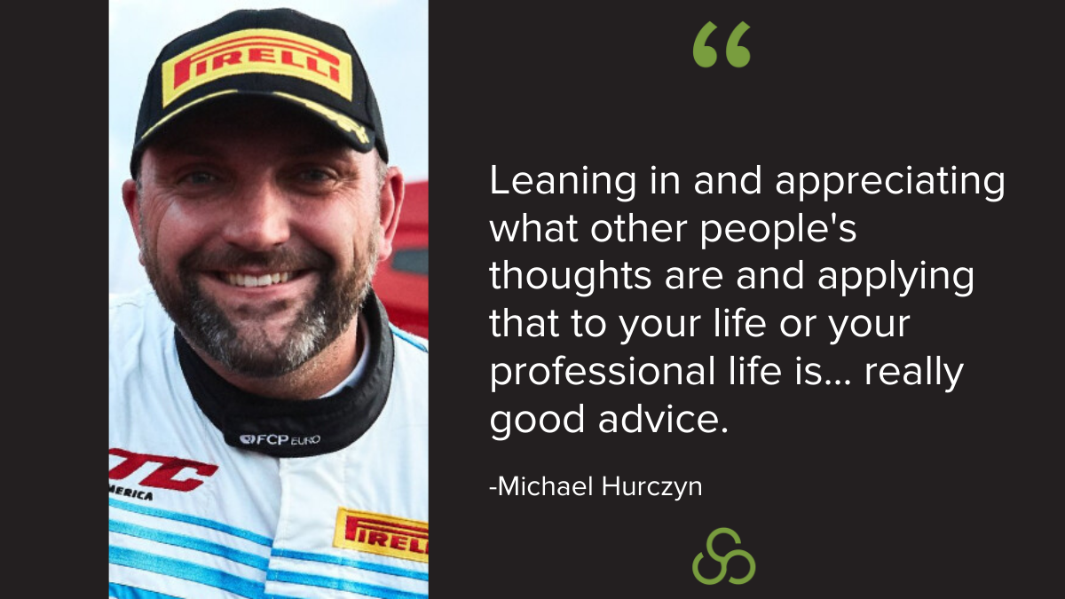 Michael Hurczyn - Advice for salespeople from a race car driver