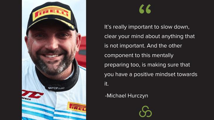 Michael Hurczyn - Importance of Mental Prepared