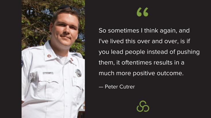 Peter Cutrer Leading vs Pushing