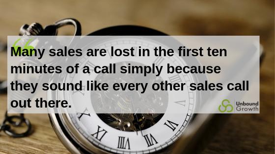 Sales calls lost