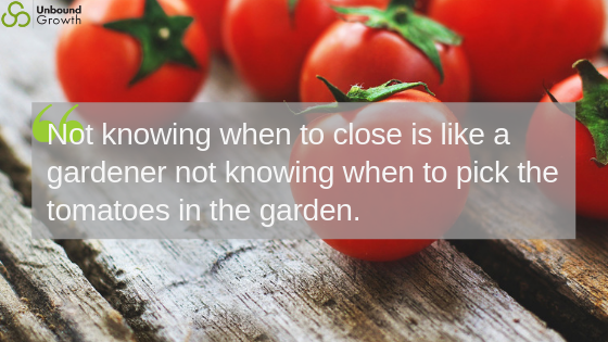 Tomatoes and closing