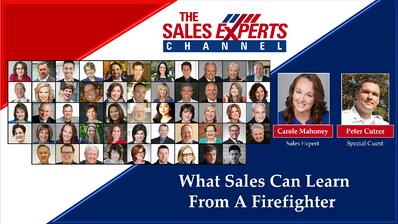 What Sales Can Learn From A Firefighter Title Slide