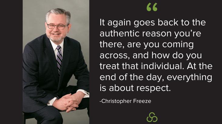 _Chris Freeze Building Relationships